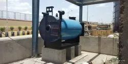 Biogas Fired Hot Water Generator