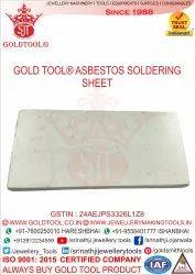 Gold Tool Asbestos Soldering Sheet