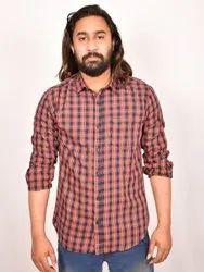 Trendy Fit Cotton Checks Shirts