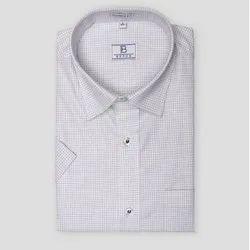 Boros Standard Collar Berry Tattersall Checks Shirt, Machine wash, Size: Xs-xl