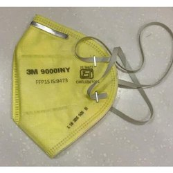 3M 9000INY Disposable Respirator, Certification: ISI
