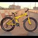 LAND ROVER Yellow Foldable Fat Tyre Cycle