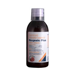 Ibugesic Plus Oral Suspension Strawberry