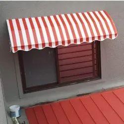 Pvc Striped Window Awning