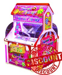 Coin Operated Arcade Game Machine - Sugar Candy
