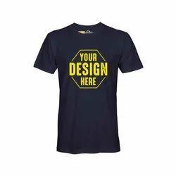 Navy Blue Cotton T Shirts