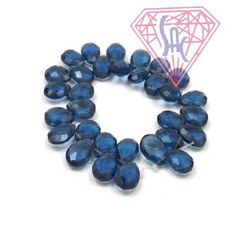 Iolite Gemstone Beads Handmade Beaded Strands