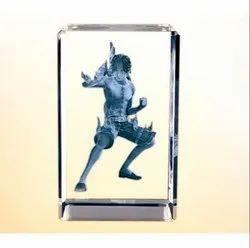 BL 714 Crystal Table Top Trophy