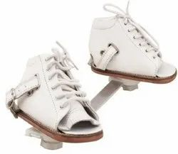 Leather White Dennis Brown Shoes
