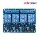 4-Channel Relay Module Board