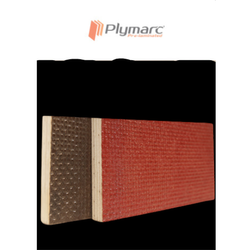 Selected Hardwood Red & Brown Plymarc Wiremesh Plywood, Thickness: 12 Mm, Size: 2.44 X 1.22 M