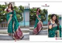 Manjubaa Mahalaya Banarasi Silk Saree Catalog