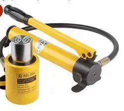hydraulic jack with hand pump