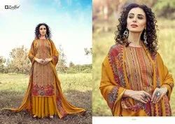 ZULFAT DESIGNER SUITS WINTER MAGIC VOL 2