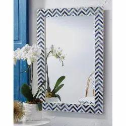 CII-872 MDF Resin Wall Mirror
