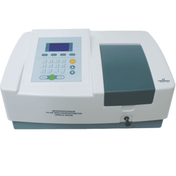 Single Beam Microprocessor UV or VIS Spectrophotometer