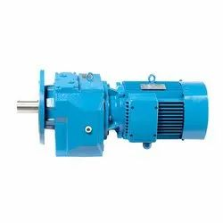 FLANGE MOUNTED HELICAL GEARED MOTOR