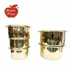 Round Brass Patela, Packaging Type: Box