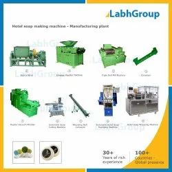 Hotel Soap Making Machine - Manufacturing Plant, Production Capacity: Up To 500 Kg Per Hour