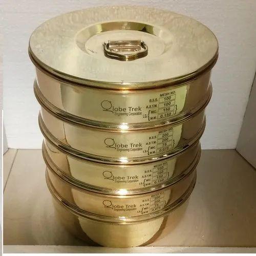 Laboratory High Quality Brass Frame Sieves