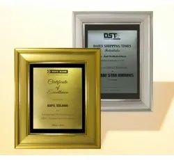FP 10693 Golden & Silver Award Memento