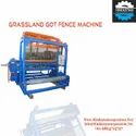 GI wire Automatic Chain Link Fence Making Machine