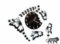 Big Butterfly Wall Clock
