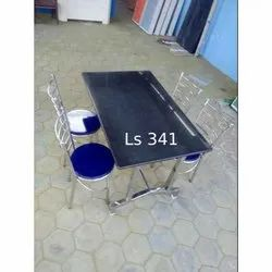 LS 341 Restaurant Chair And Table Set