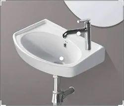 sterling Ceramic Wash Basin 18x12, For Bathroom