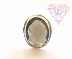Smoky Quartz Handmade Ring