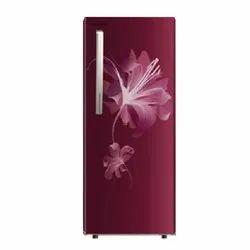 3 Star Red NR-AC21ST2X1 Panasonic Single Door Refrigerator, Capacity: 202 L