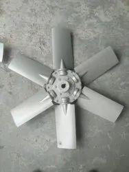 Aluminium Silver Axial Flow Fan Tube Axial Fan