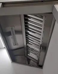 SS Wall Mounted Exhaust  Hood And Filter