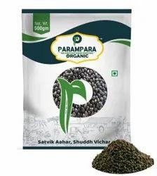 Parampara Organic Black Gram Whole (Urad), Indian, Packaging Size: 500 g
