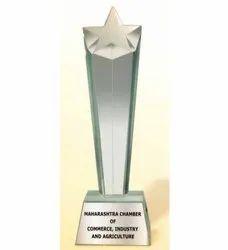 CG 150 Rising Star Crystal Trophy
