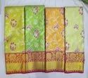 Uppada Silk Saree, Hand, 6.3 M (with Blouse Piece)