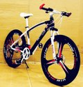 BMW Sleek Design Black MTB Cycle