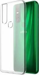 Silicon Infinix Transparent Mobile Back Cover