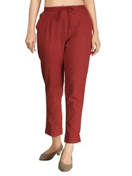 Chinos Solids Cotton Flex Pants