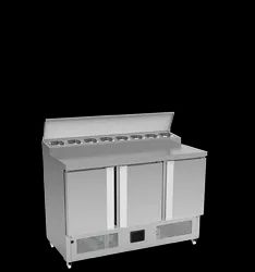 Stainless Steel Food Preparation Table Top Commercial Refrigerator