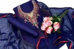 Thankar 35-36 Stylish Georgette Dress Material