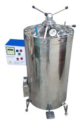Standard Steel High Pressure Vertical Autoclave