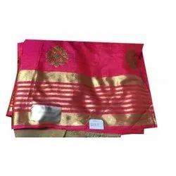 Ladies Fancy Silk Saree, 6.3 m (with blouse piece)
