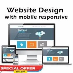 PHP/JavaScript Responsive Dynamic Web Designing Service, With 24*7 Support
