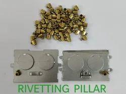 Brass Riveting Pillars