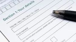 One Year Bank Form Filling Service
