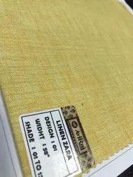 Aviraj Plain Textile Poly Cotton Fabric, GSM: 120