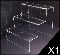 10 Inch Transparent Acrylic Display Racks