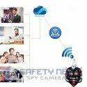 SAFETYNET Spy Camera in Nazar Battu Plastic Door Hanging WiFi Hidden Camera