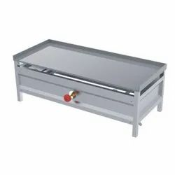 Silver Stainless Steel CATERING DOSA PLATE, For Hotel, Size: 30 X 16 X 16